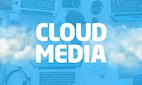 Cloud media logo